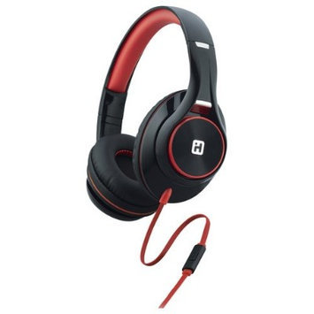 iHome IB42BRC Over-the-Ear Headphones - Black