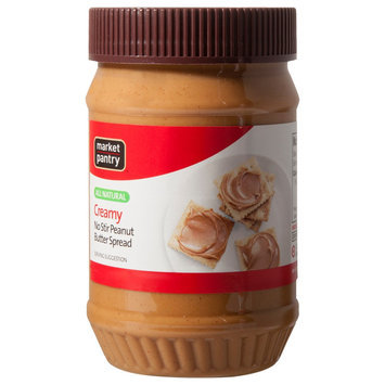 Market Pantry No-Stir Peanut Butter Spead 16-oz.