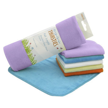 Thirsties, INC Fab Wipe for Girl (6 Pack)