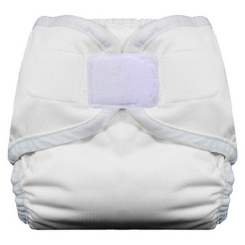 Thirsties Reusable Diaper with Hook & Loop, X-Small - White