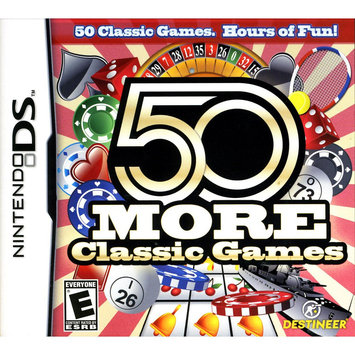 Destineer 828068213374 50 More Classic Games for Nintendo DS