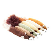 Grreat ChoiceA Long Mice Value Pack Cat Toy