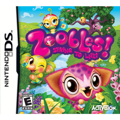 Activision Zoobles! Spring to Life! with Toy - Nintendo DS