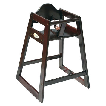 Babies R Us Foundations Classic Wood High Chair - Antique Cherry Finish