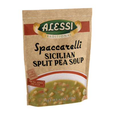 Alessi Traditional Spaccarelli Sicilian Split Pea Soup