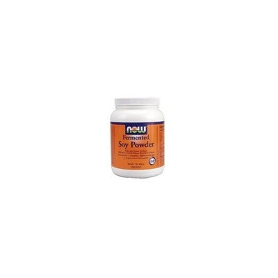 NOW Foods Fermented Soy Powder, 1 Pound