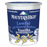Dean Foods Mountain High All Natural Nowfat Vanilla Yoghurt 32 oz