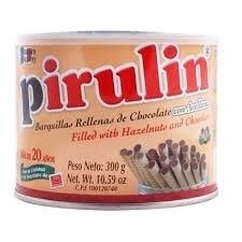 Pirulin Wafer Filled with Hazelnut and Chocolate