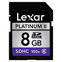 Lexar 100x 8GB Sdhc Memory Card - Black SD8GBT200C