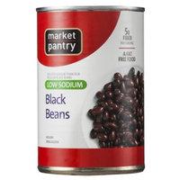 market pantry Market Pantry Low Sodium Black Beans 15 oz