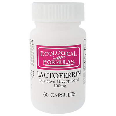 Lactoferrin 100 mg 60 caps by Ecological Formulas