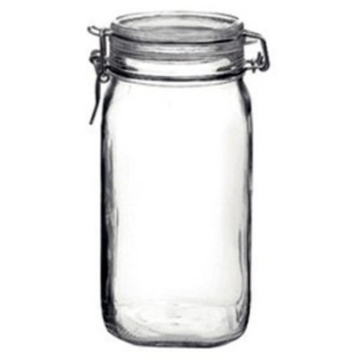 Bormioli Rocco Fido Glass Canning Jar Italian - 1.5 (1 1/2) Liter