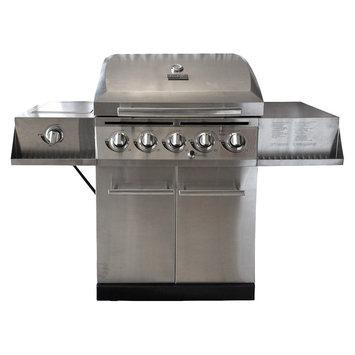 Char-Broil 5-Burner Gas Grill with Side Burner