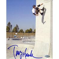 Mlb Tony Hawk Up The Wall Autographed Photo (8