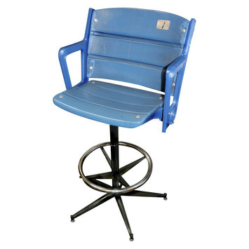 Mlb New York Yankees Steiner Sports Authentic Yankee Stadium Single Seat Bar Stool
