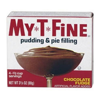 My-t-fine My T Fine Chocolate Fudge Pudding, 3.125-Ounce (Pack of 12)