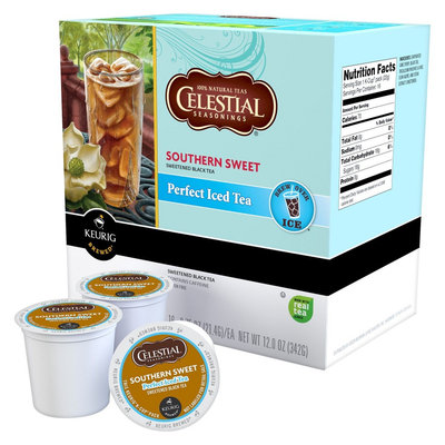 Keurig Celestial Seasonings Southern Sweet Tea Perfect Iced Tea K