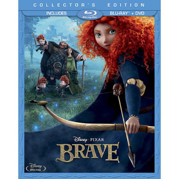 Brave (2-Disc Blu-ray + DVD) (Widescreen)