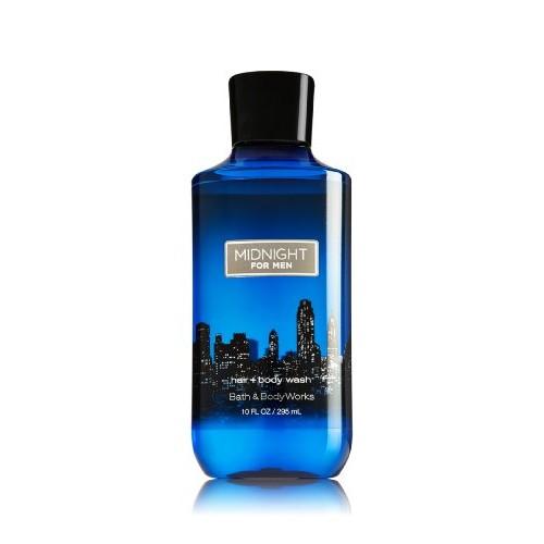 Hair + body Wash - Bath & Body Works, Midnight for Men 10oz/295mL