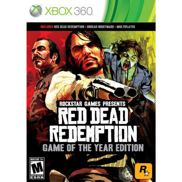 Rockstar Games Red Dead Redemption: Game of The Year Edition Xbox 360 Game Rockstar Gaming