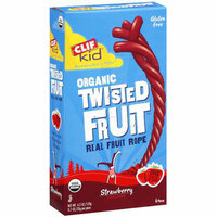 Clif Kid: Strawberry Organic Twisted Fruit Real Fruit Rope