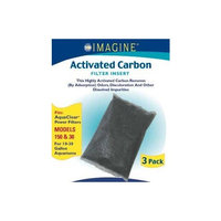 Imagine Gold Llc AIM71382 Aquaclear 30 Aquacleartive Carbon, 3-Pack