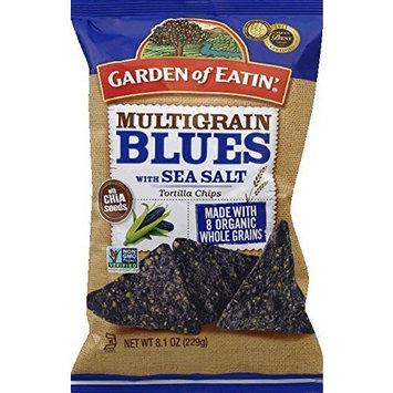 Garden Of Eatin' Garden Of Eatin Organic Multigrain Blues Tortilla Chips, 8.1 Ounce -- 12 per case.