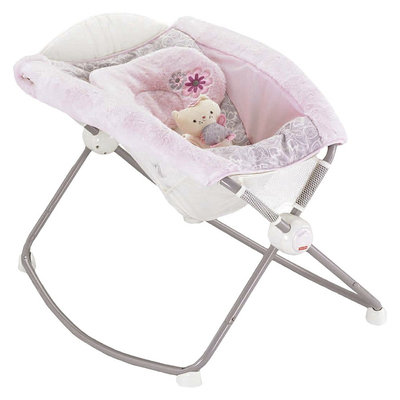 Fisher Price Fisher-Price My Little Sweetie Deluxe Rock 'n Play Sleeper