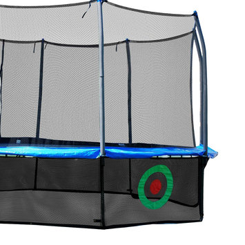 Skywalker Trampolines SureShot Lower Enclosure Net with Target Game and Storage Bag