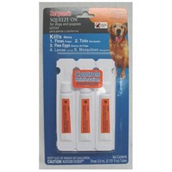Sergeant's Flea and Tick Squeeze-On for Dogs - 33-66 lb