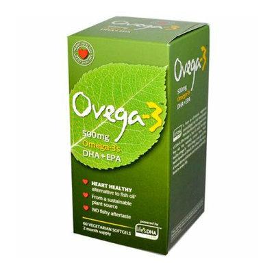 Amerifit Nutrition Ovega-3 500 mg 60 Vegetarian Softgels