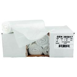 General Paper High-Density Can Liner, 30 inches x 36 inches, 30