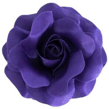 Sara Monica LLC Sara Monica Flower Hair Clip and Pin Rose_Made in the USA