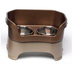 Neater Pet Brands - Neater Feeder Medium Dog- Bronze Medium Dog - 100-221-RB