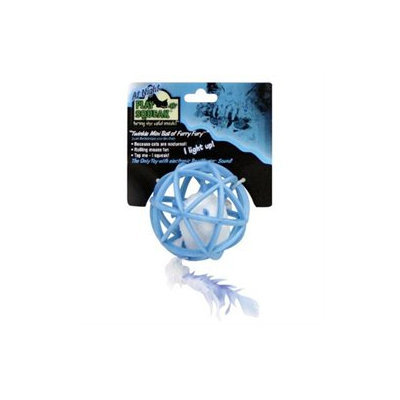 Ourpet's Company Play-N-Squeak Twinkle Mini Ball of Fury Furry Cat Toy