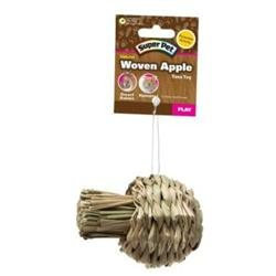 Super Pet Small Natural Sisal Apple Toy Pet Toy