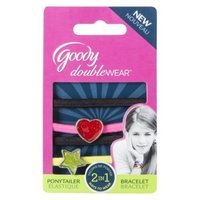 Goody Doublewear Goody Double Wear 2 in 1 Ponytailer and Bracelete Multi Color with