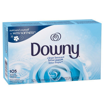 Downy Clean Breeze Dryer Sheets - 105 Count