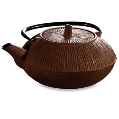 Epoca P Brown Cast Iron Tea Pot 28oz