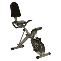 Exerpeutic 400XL Folding Semi Recumbent Bike with Pulse Sensors
