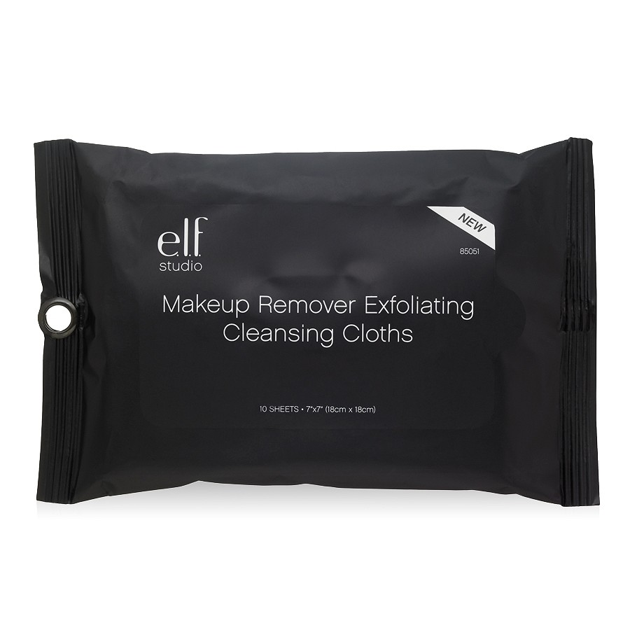 e.l.f. Makeup Remover Exfoliating Cleansing Cloths