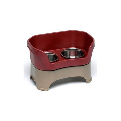 Neater Pet Brands - Neater Feeder Medium Dog- Cranberry Medium Dog - 100-220-RB