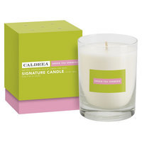 Caldrea Green Tea Verbena Signature Boxed Jar Candle 10.5-oz.