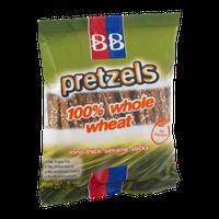 BB Pretzels 100% Whole Wheat Sesame