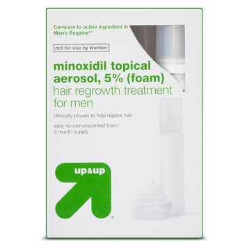 up & up 3-pk. Topical Aerosol Minoxidil Hair Regrowth Treatment for