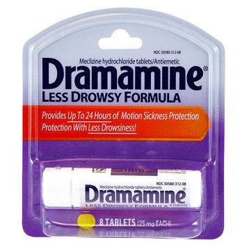 Dramamine Less Drowsy 25 mg