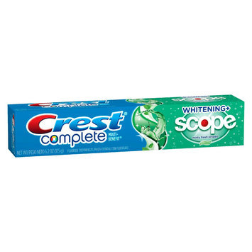 Procter & Gamble Company Complete Whitening Scope Mint Tooth Paste 6.2 oz