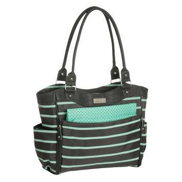 Carter's Green Fashion Tote Diaper Bag