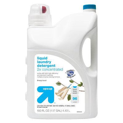 up & up Liquid Fresh Linen Scent Laundry Detergent - 150 oz