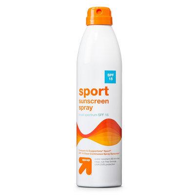 up & up Sport Sunscreen Spray - SPF 15 - 10 oz